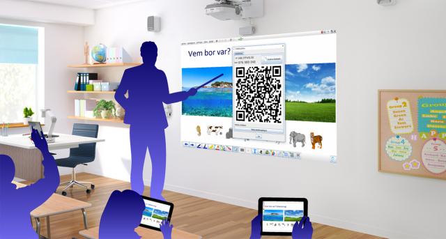 ITPWB  Desktop på lärartavlan och ITPWB Live! i elevernas surfverktyg
